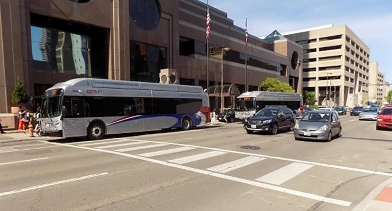 Downtown Columbus Crosswalks
