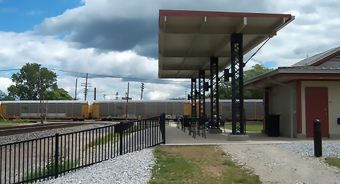 Fostoria Iron Triangle Rail Park Brownfield Redevelopment