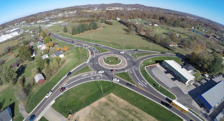 KY 363/KY 1006 Roundabout