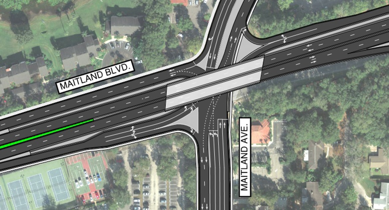 Maitland Boulevard Interchange Feasibility Study