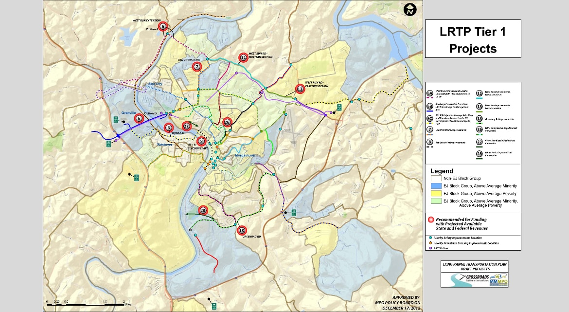 MMMPO Regional Long-Range Transportation Plan