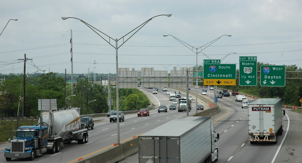 Ohio I-70/I-71 West Interchange Reevaluation