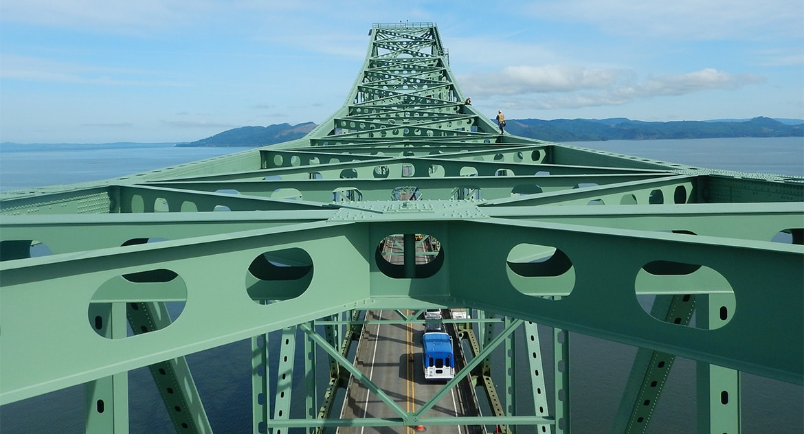 Oregon Fracture Critical Bridge Inspections