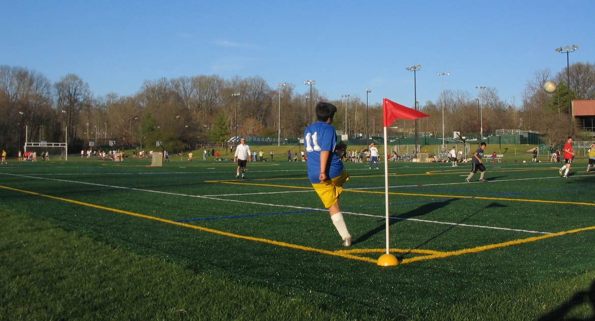 Synthetic Turf Design for Athletic Fields