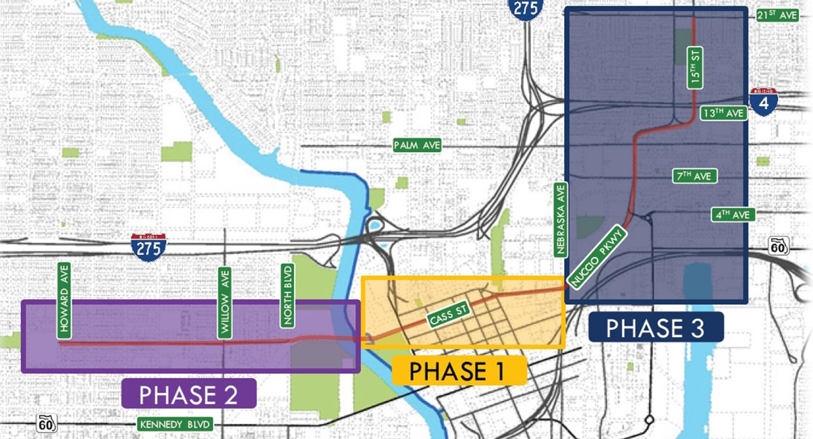 The East-West Green Spine Phase 2 and 3