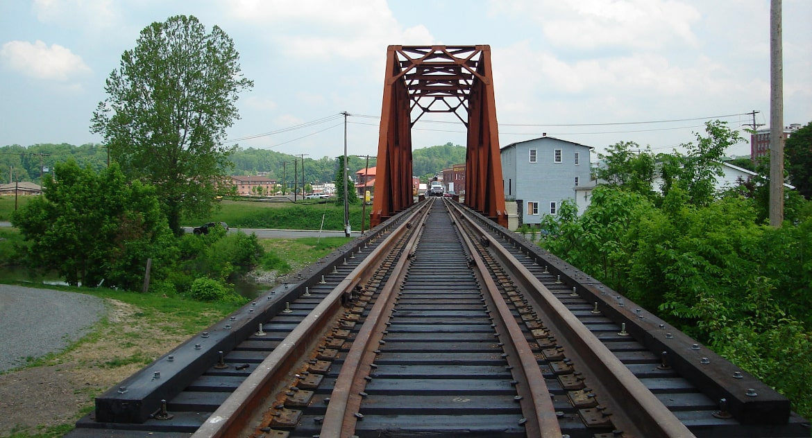 Tygart Valley River Railroad Bridge